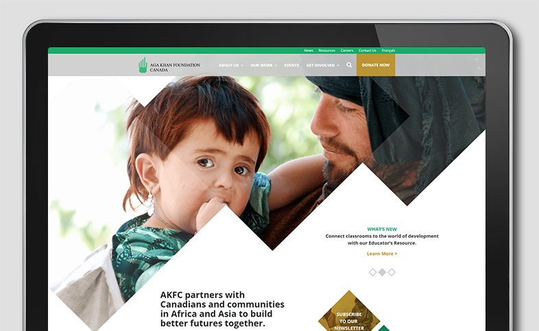 Aga Khan Foundation Website